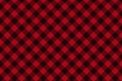Картина красной черной шотландки Lumberjack безшовная иллюстрация штока
