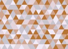 Картина красочного геометрического треугольника безшовная Абстрактный ба вектора Стоковые Изображения RF