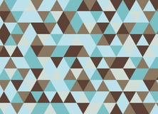 Картина красочного геометрического треугольника безшовная Абстрактный ба вектора Стоковая Фотография