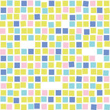 Картина красочной мозаики безшовная Плитка Стоковое Фото