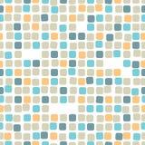 Картина красочной мозаики безшовная Плитка Стоковое Изображение RF