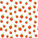 Картина красочных плодоовощей безшовная Стоковые Изображения