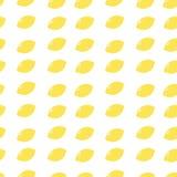 Картина красочных плодоовощей безшовная Стоковые Фотографии RF