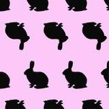 Картина кроликов Стоковая Фотография RF