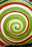Картина круга завальцовки зеленых цветов. Стоковое Изображение