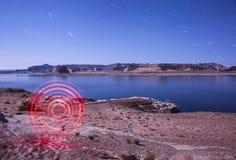Картина круга светлая - озеро Пауэлл Стоковые Фото