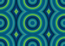 Картина кругов Стоковая Фотография RF