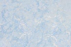 Картина крупного плана поверхностная абстрактная мраморная на голубой мраморной каменной предпосылке текстуры пола Стоковая Фотография RF
