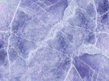 Картина крупного плана поверхностная абстрактная мраморная на голубой мраморной каменной предпосылке текстуры пола Стоковые Фото