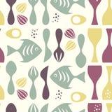 картина кухни Стоковые Изображения