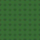 Картина клевера и сердца иллюстрация штока