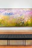 Картина Клода Monet вызвала лилии воды Стоковые Изображения RF