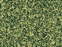Картина леса зеленого цвета camuflage пиксела безшовная бесплатная иллюстрация