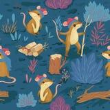 Картина леса зимы стоковые изображения
