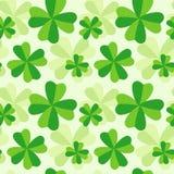 картина листьев клевера 4 Стоковая Фотография RF