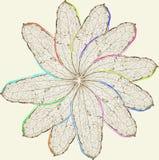 Картина лист Стоковое Фото