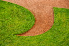 картина лужайки Стоковая Фотография
