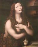 Картина Магдалены Ла в соборе Бургоса стоковая фотография