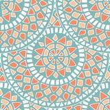 Картина мандалы цветка внутри Стоковое Изображение RF