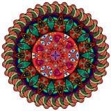 Картина мандалы Стоковое Изображение RF