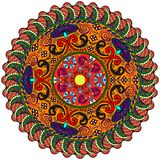 Картина мандалы Стоковые Фотографии RF