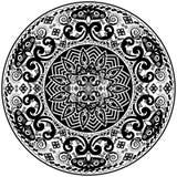 Картина мандалы Стоковые Фото