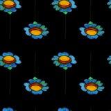 Картина маргаритки акварели Стоковые Фотографии RF