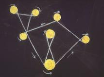 картина маслом абстрактного искусства Стоковые Фотографии RF