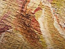 картина маслом холстины близкая вверх Стоковая Фотография