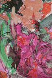Картина маслом, художник римское Nogin, беседа женщин ` серии ` Стоковая Фотография RF