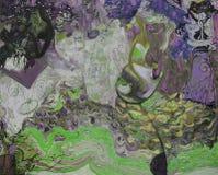 Картина маслом, художник римское Nogin, беседа женщин ` серии ` Стоковое фото RF
