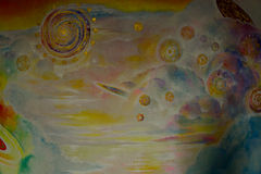 Картина маслом красивая Стоковая Фотография RF