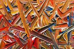 Картина маслом на холсте Стоковая Фотография RF