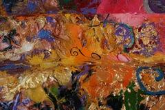 Картина маслом структуры Стоковая Фотография RF