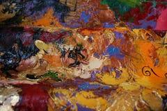 Картина маслом структуры Стоковые Изображения RF