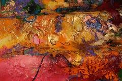 Картина маслом структуры Стоковое Изображение RF