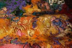 Картина маслом структуры Стоковые Фотографии RF