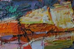 Картина маслом текстуры автор крася римское Nogin Стоковое фото RF