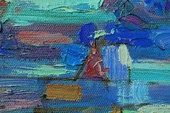 Картина маслом текстуры Стоковая Фотография RF