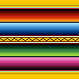 картина мексиканца ткани Стоковые Изображения
