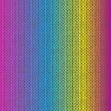 Картина меланжа стиля безшовная связанная Стоковое Изображение RF