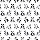 Картина медведя панды иллюстрация штока