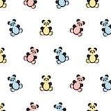 Картина медведя панды бесплатная иллюстрация