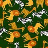 Картина милого вектора животная для иллюстрации и ткани иллюстрация вектора