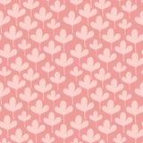 Картина милых маленьких листьев безшовная Стоковое фото RF