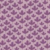 Картина милых маленьких листьев безшовная Стоковые Изображения RF