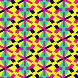 картина мозаики безшовная предпосылка геометрическая также вектор иллюстрации притяжки corel иллюстрация вектора