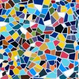 Картина мозаики вектора абстрактная безшовная Стоковое Изображение