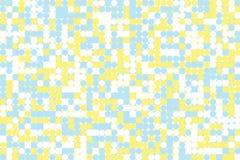Картина мозаики полутонового изображения футуристическая бесплатная иллюстрация