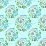 Картина морской жизни Стоковое Изображение